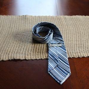 Burma Bibas Accessories - Beautiful Burma Bibas striped tie